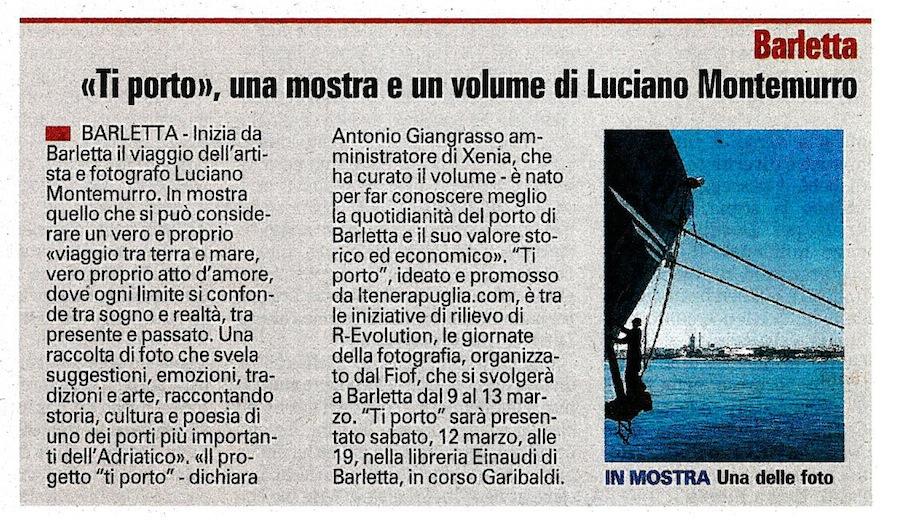 La Gazzetta del Mezzogiorno 07-03-2011